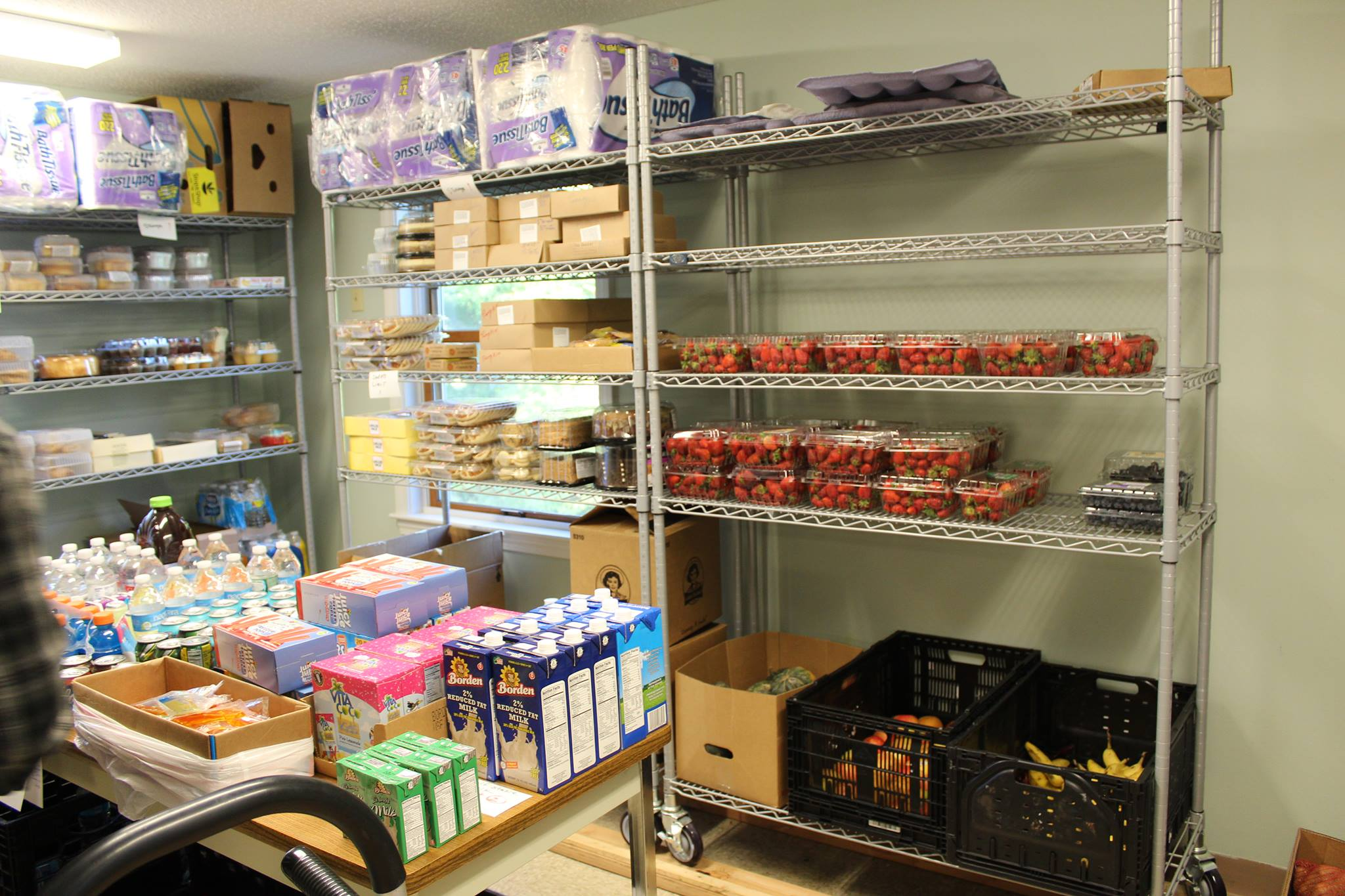 Five Corner Cupboard Food Pantry