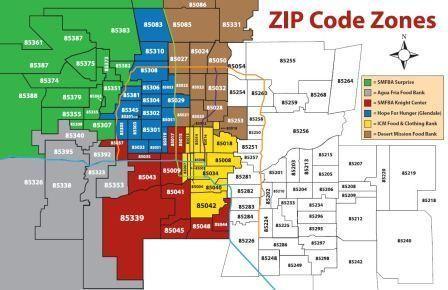 23354_cultural_cup_food_bank_85012_swr Zip Code Map Phoenix on