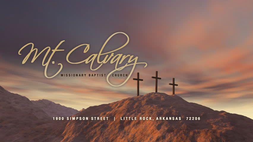 Mount Calvary Missionary Baptist