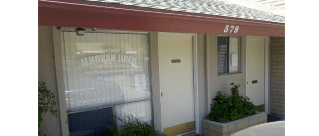 Camarillo Community Church - Jehovah Jireh Food Pantry