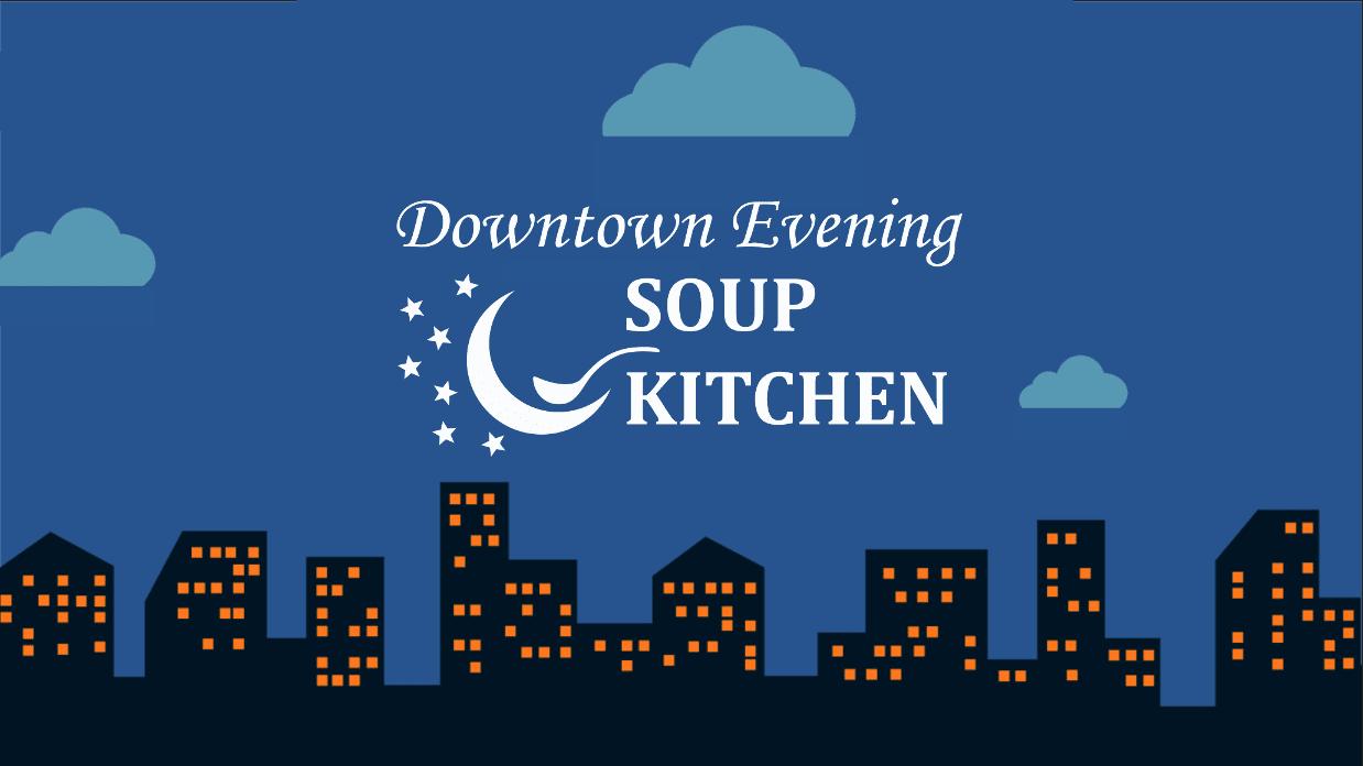 Magnificent Downtown Evening Soup Kitchen Desk Foodpantries Org Interior Design Ideas Clesiryabchikinfo