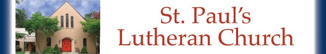 Saint Paul's Evangelical Lutheran Church Food Pantry