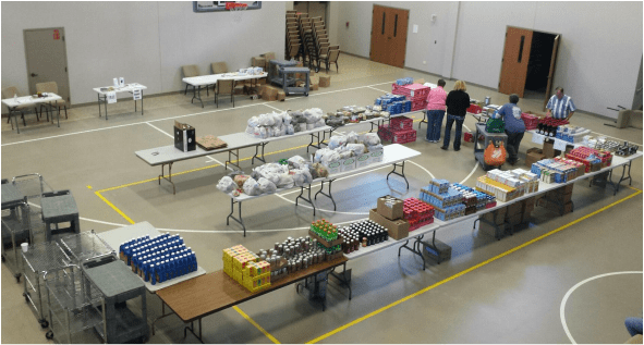 Helmar Lutheran Church Pantry