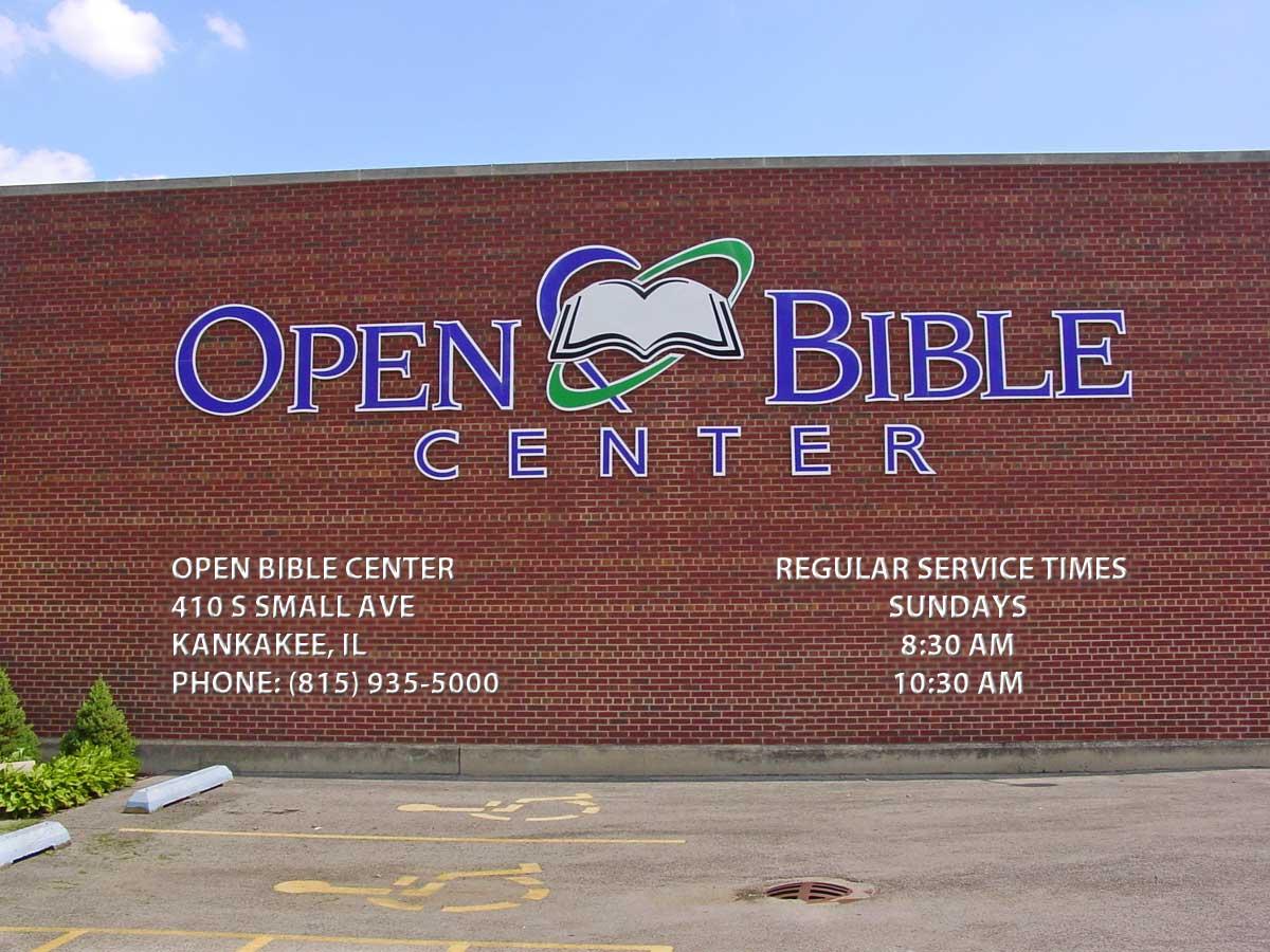 Open Bible Center Pantry