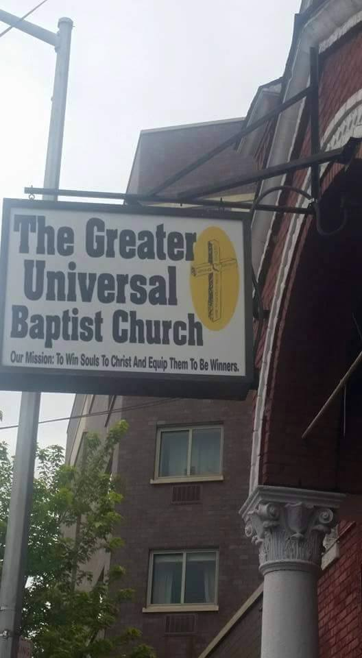 Greater Universal Baptist Church