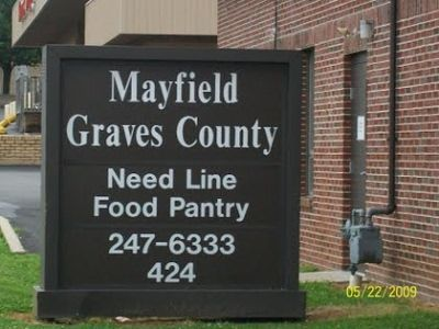 Mayfield Graves County Need Line and Food Pantry