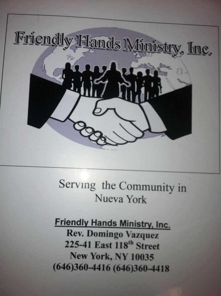 Friendly Hands Ministry Inc.