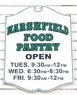 Marshfield Food Pantry