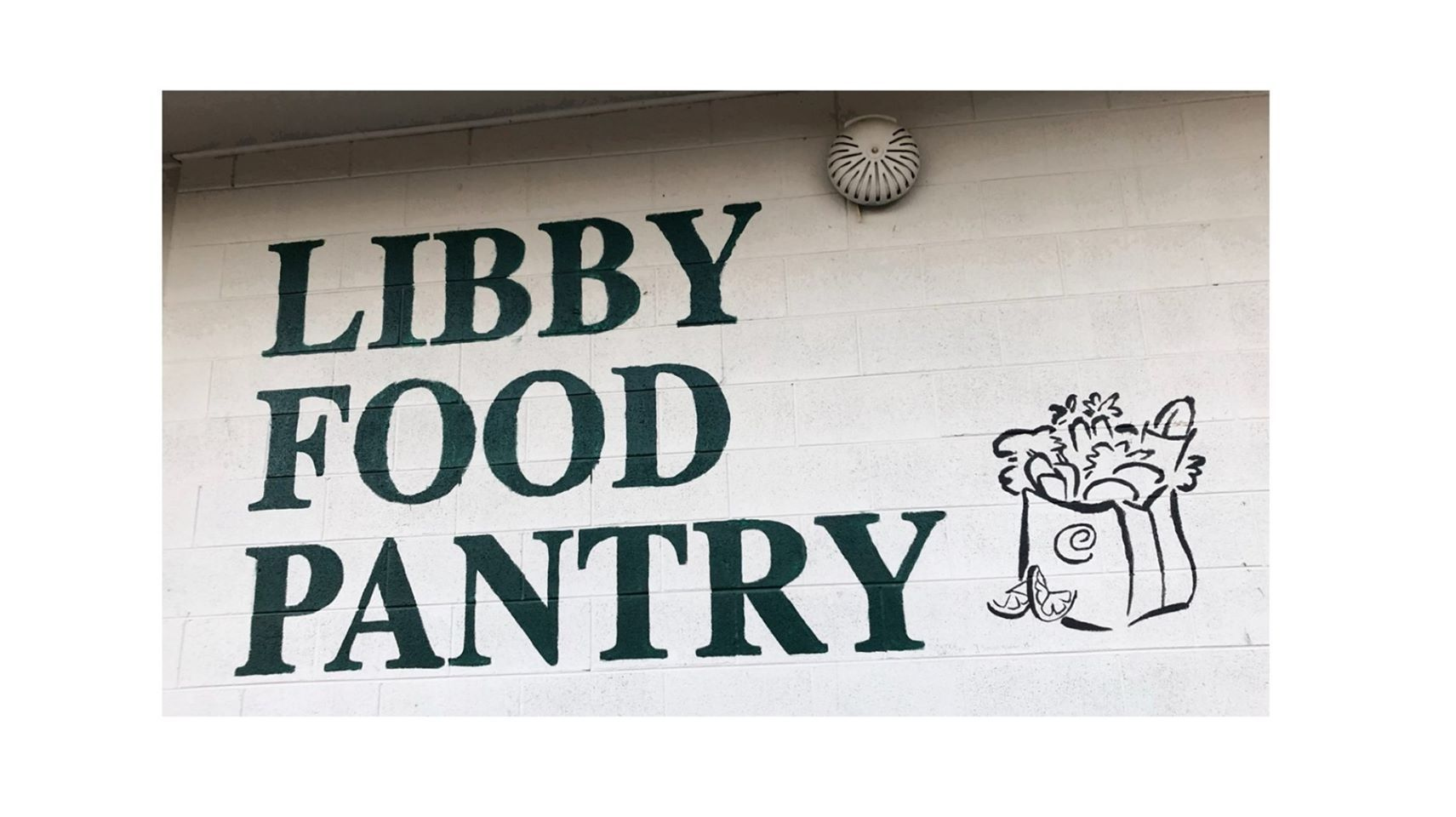 Libby Food Pantry