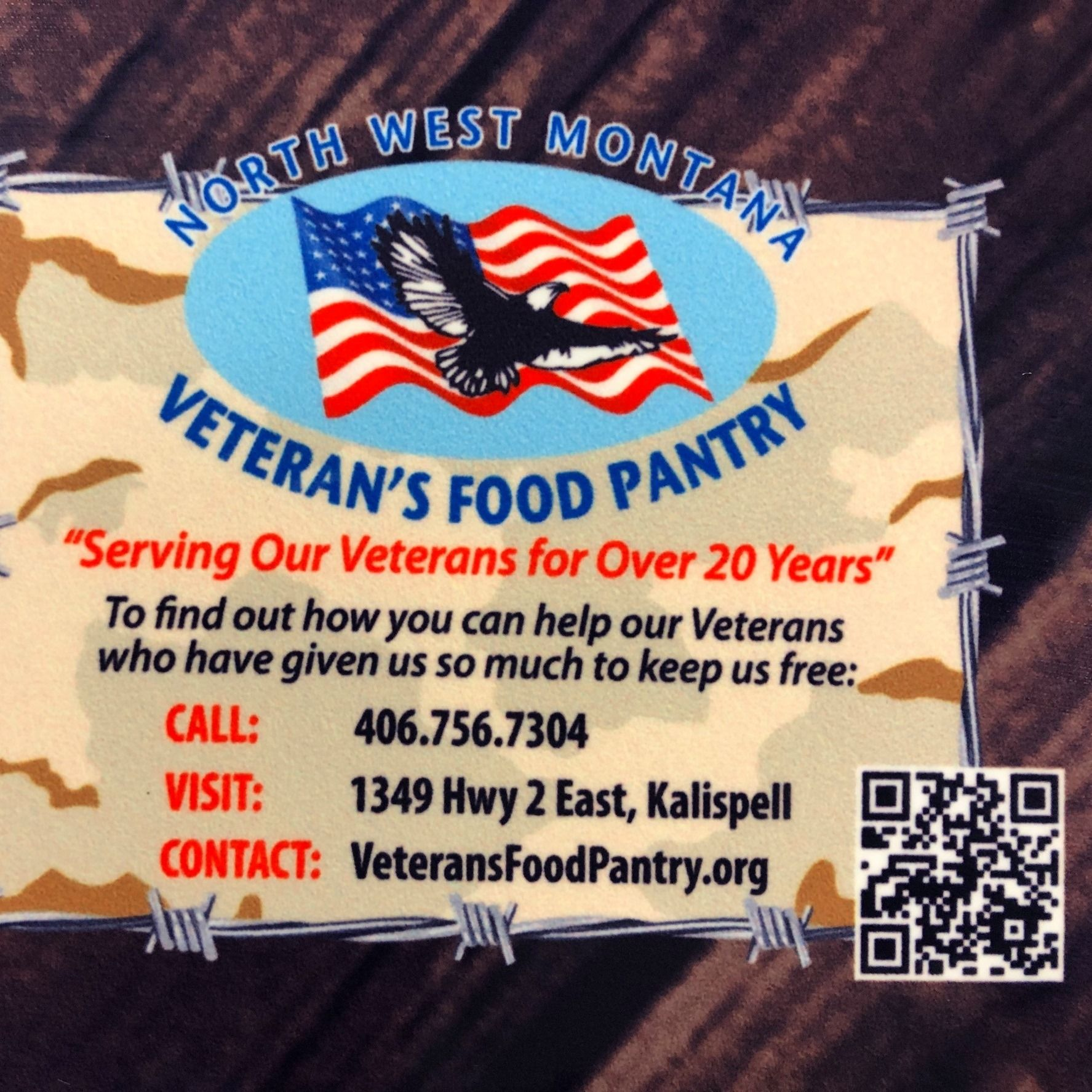 North West Montana Veterans Stand Down and Food Pantry