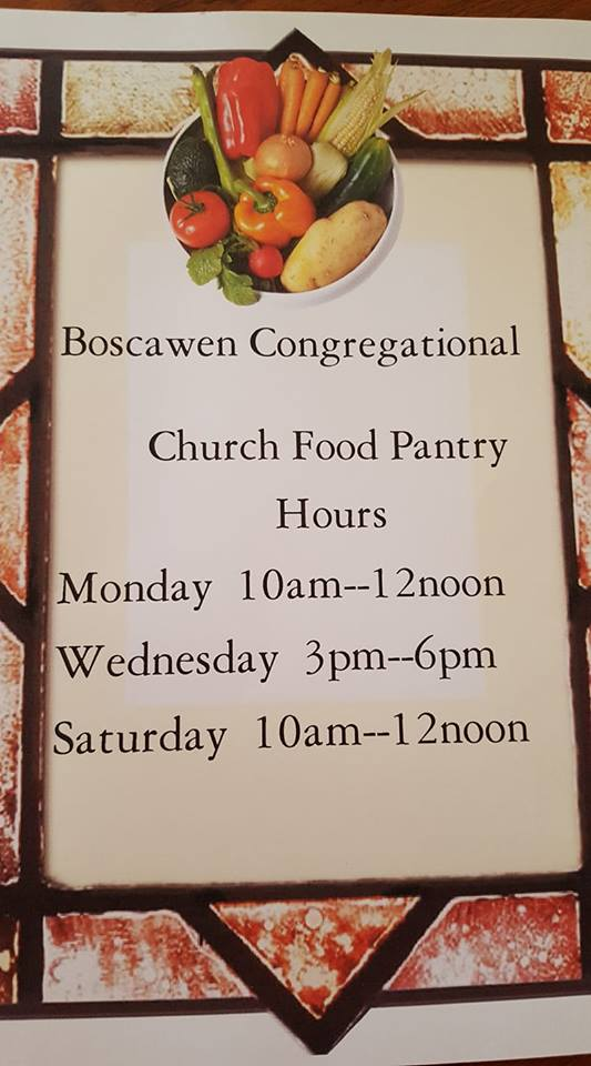Boscawen Congregational Church -  Boscawen Food Pantry