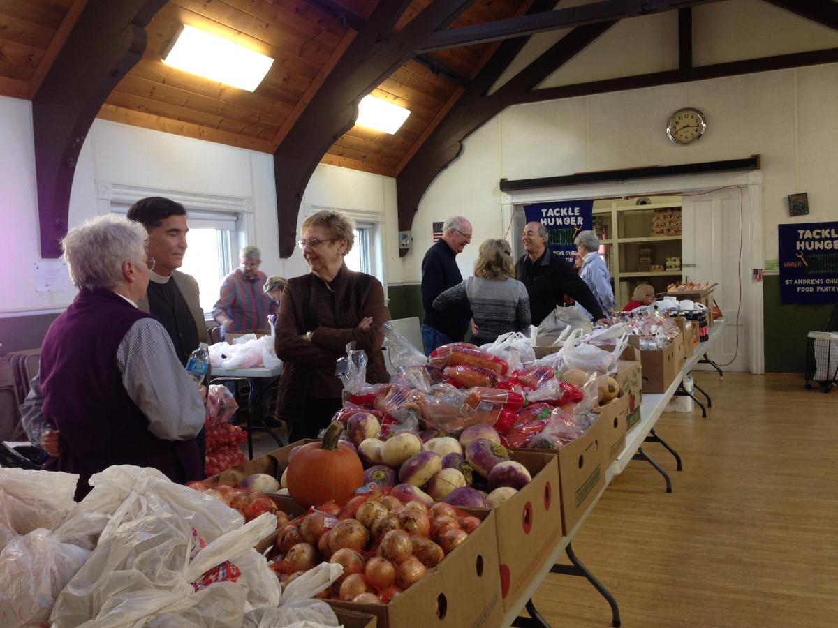 St Andrew's Church Food Pantry