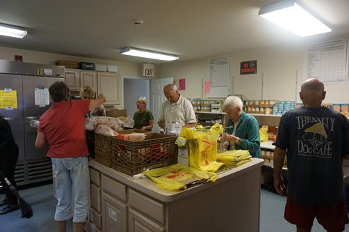 St. James Church of Bradley Beach Food Pantry