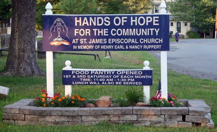 St James Episcopal Church - Hands of Hope