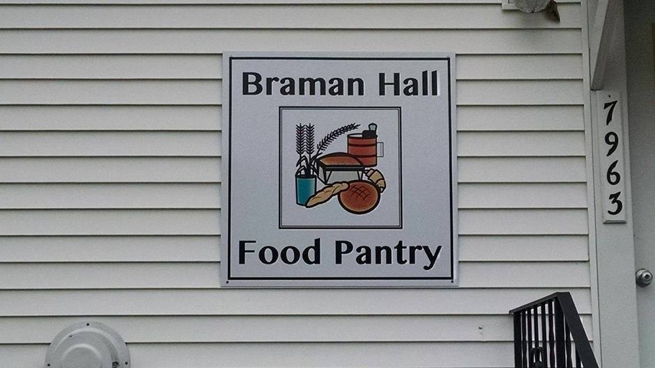 Braman Hall Food Pantry Duanesburg Florida Baptist Church