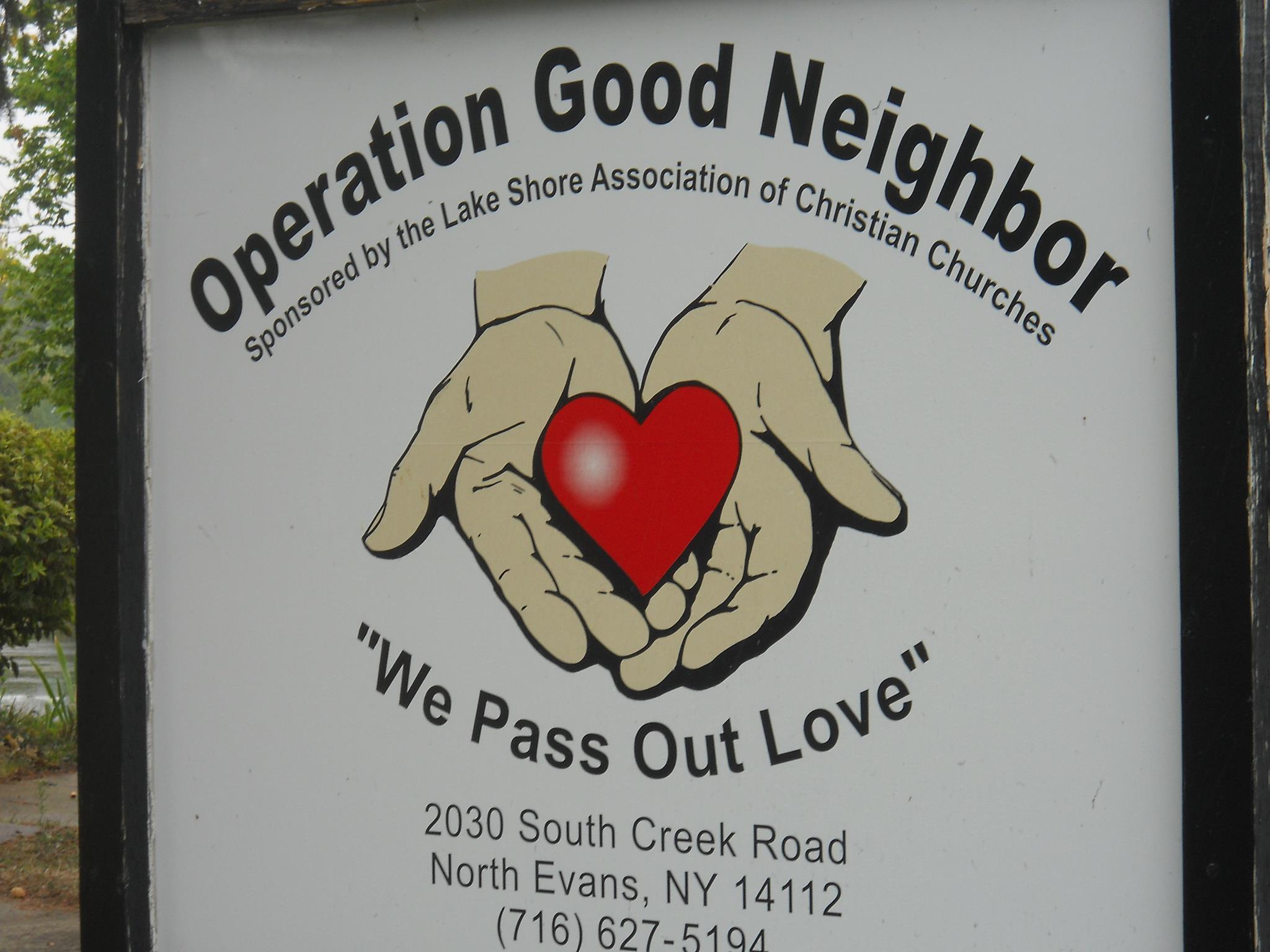 Operation Good Neighbor Food Pantry