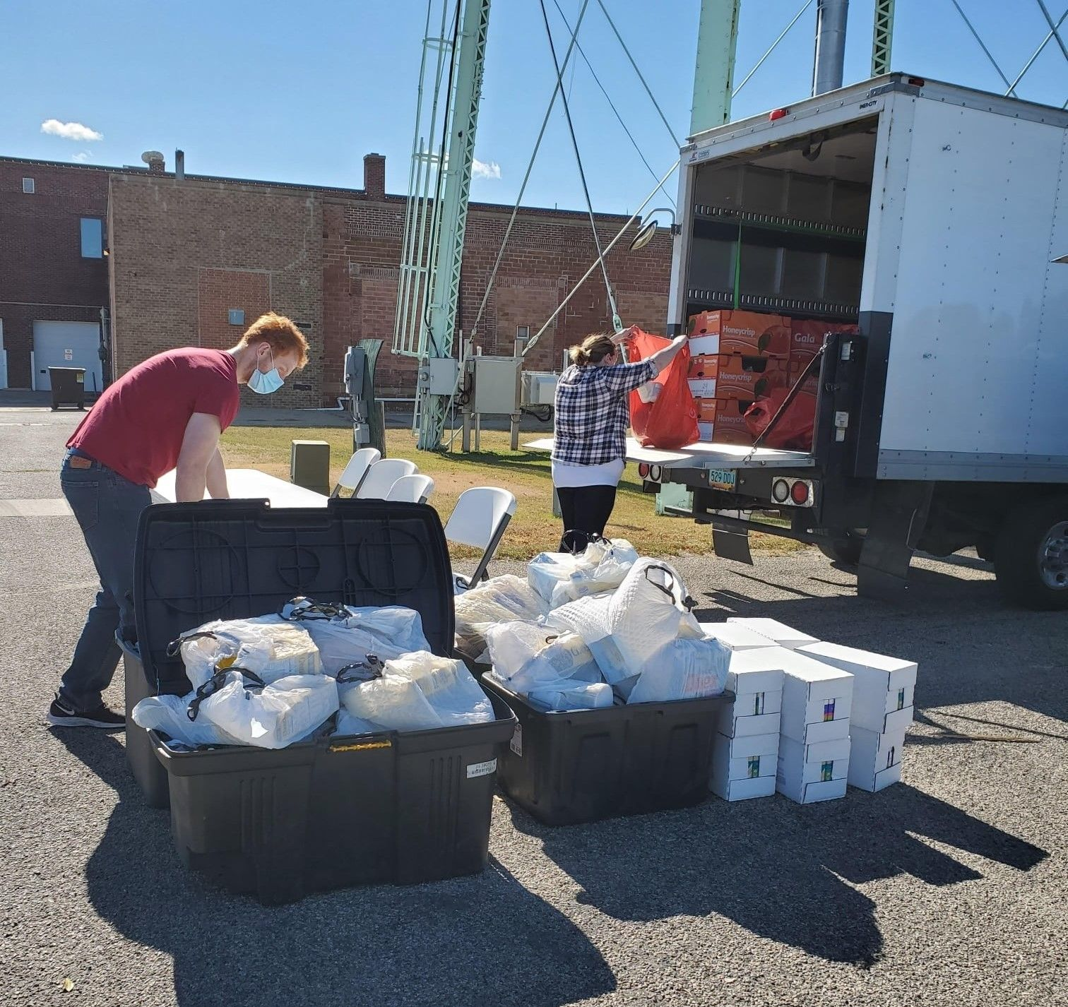 Northland Rescue Mission Food Boxes and Meals