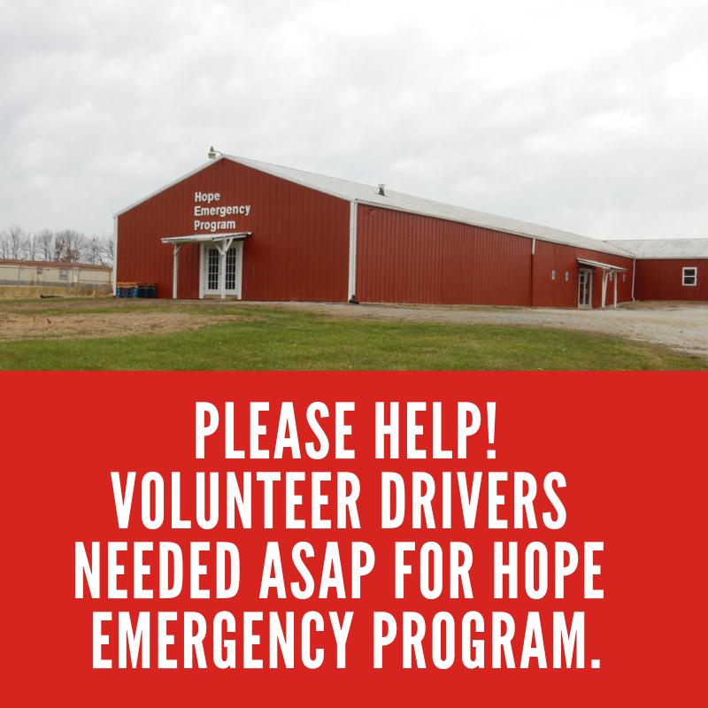 Hope Emergency Program - Sisters of Urusuline of Brown County