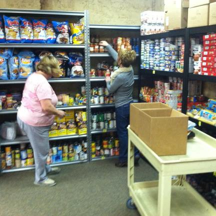 Adventure Church - Jesus Feeds Food Pantry