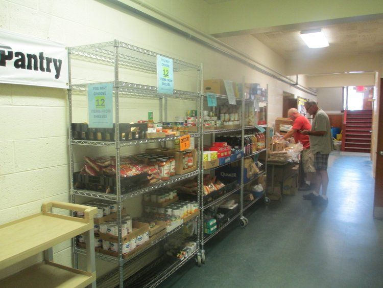 St. John's Episcopal Church Food Pantry