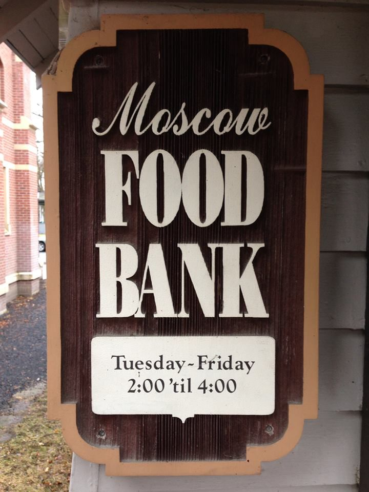 St Mary's Church on Moscow Food Pantry