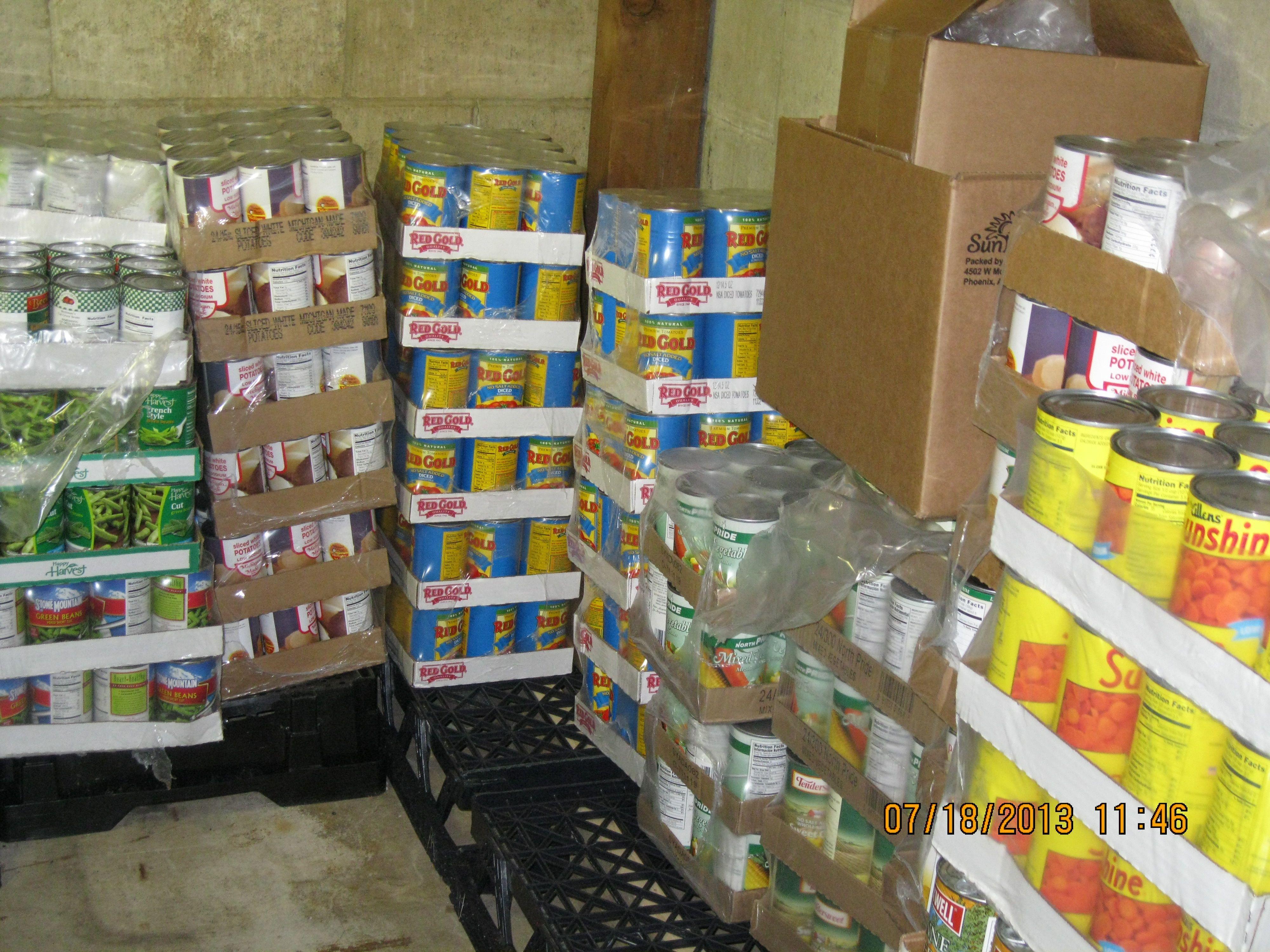 GEDCO - North East Food Pantry