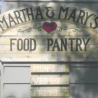 Martha and Mary Food Pantry