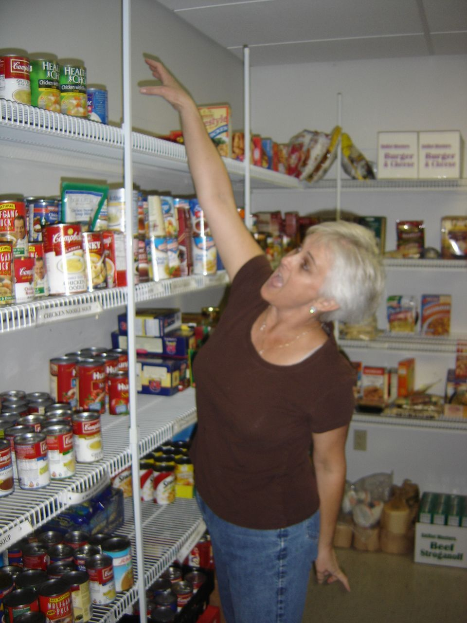 Cornerstone UMC Food Pantry