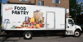Mobile Food Pantry Michigan