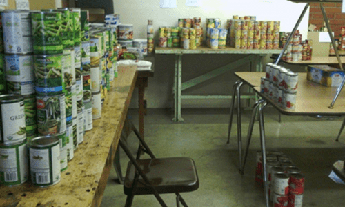 League of Volunteers Emergency Food Bank