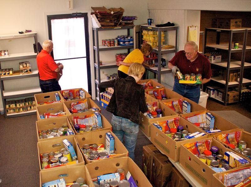 Food pantries in my area today