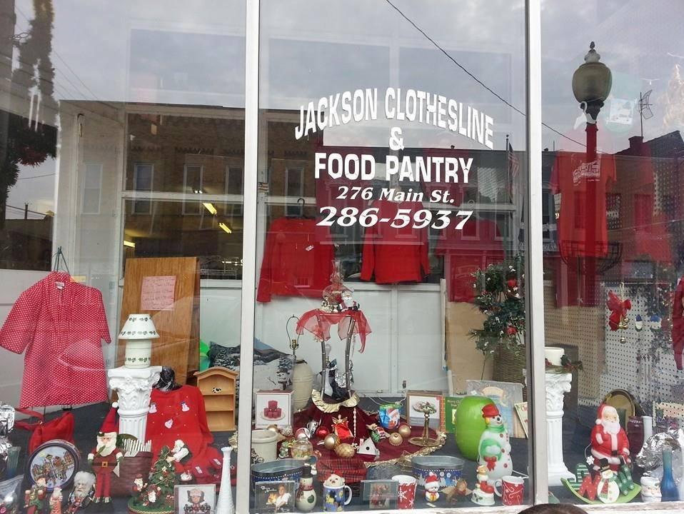 Jackson Food Program Clothsline
