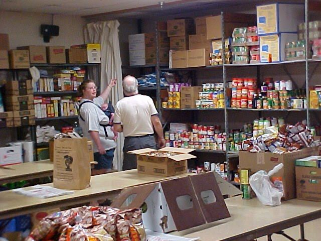 Centenary Christian Church Food Pantry