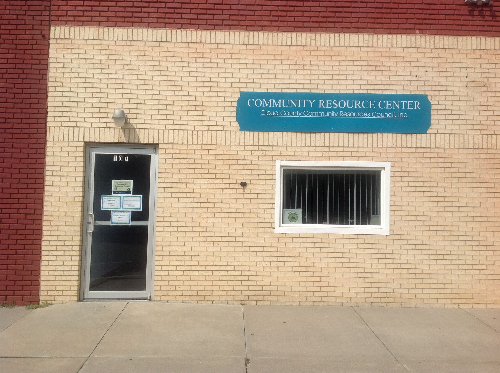 Cloud County Food Bank - Community Resource Center