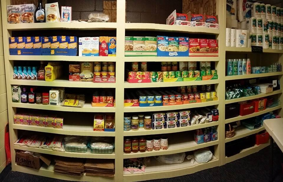 Rives Baptist Church Food Pantry