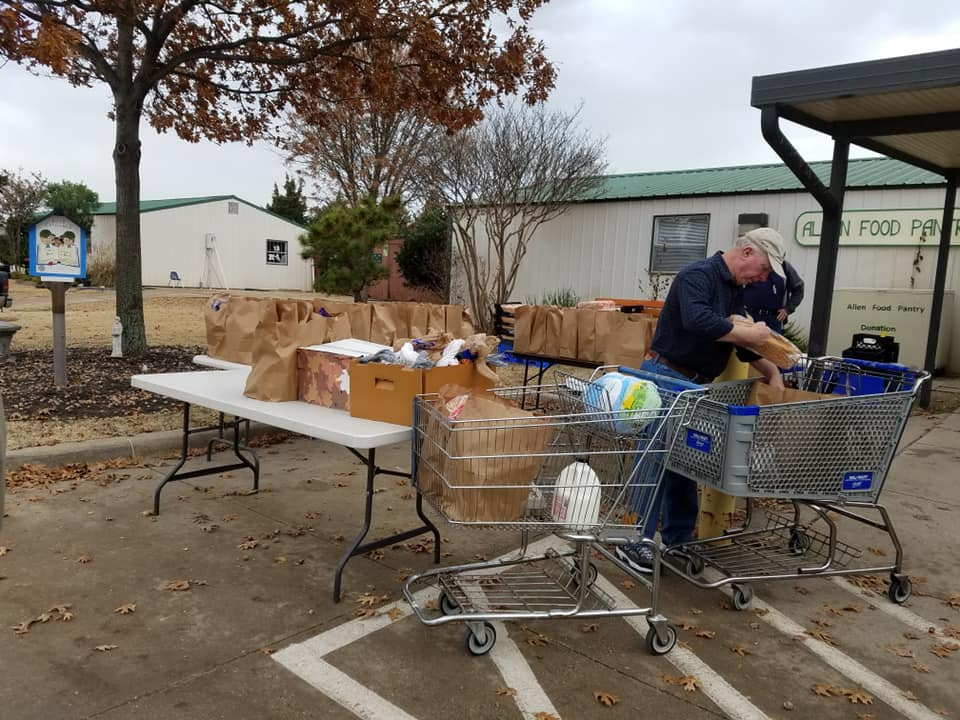 Allen Ministerial Alliance Food Pantry
