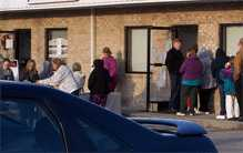 Douglas Cherokee Economic Authority - Sevier County Center - Commodity Food Distribution