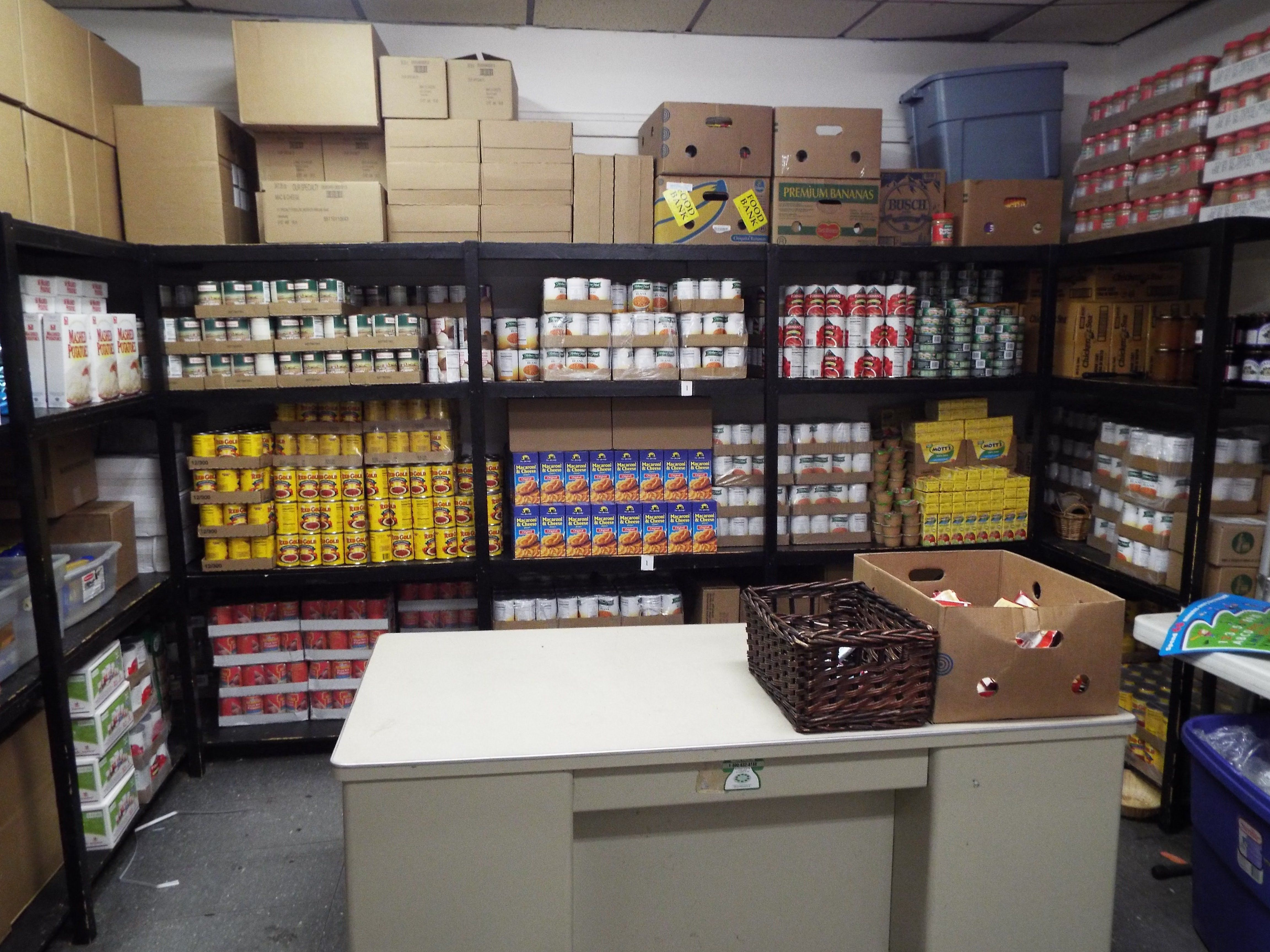 Jeremiah Inn Food Pantry