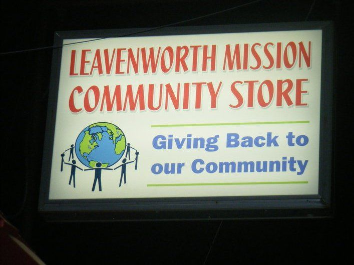 Leavenworth Mission Community Store - Food Pantry