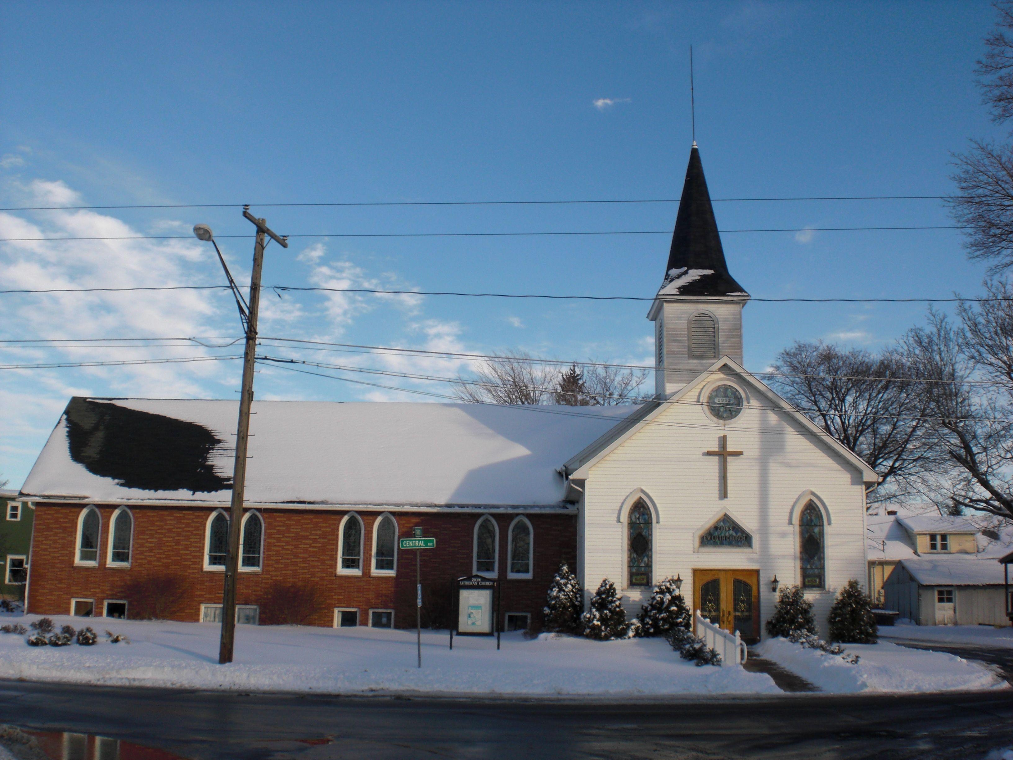 Zion Lutheran Church of Gasport