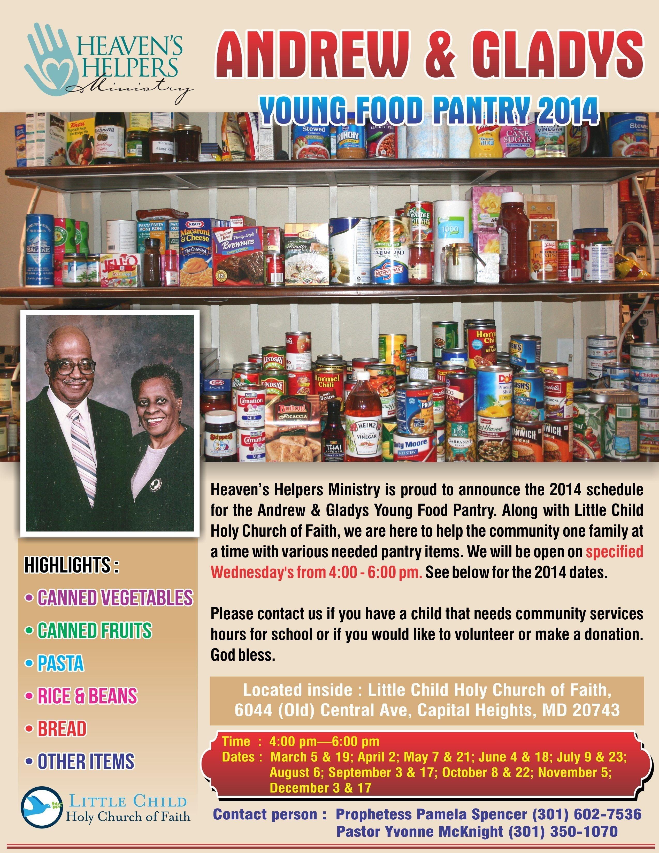 Heaven's Helpers Ministry