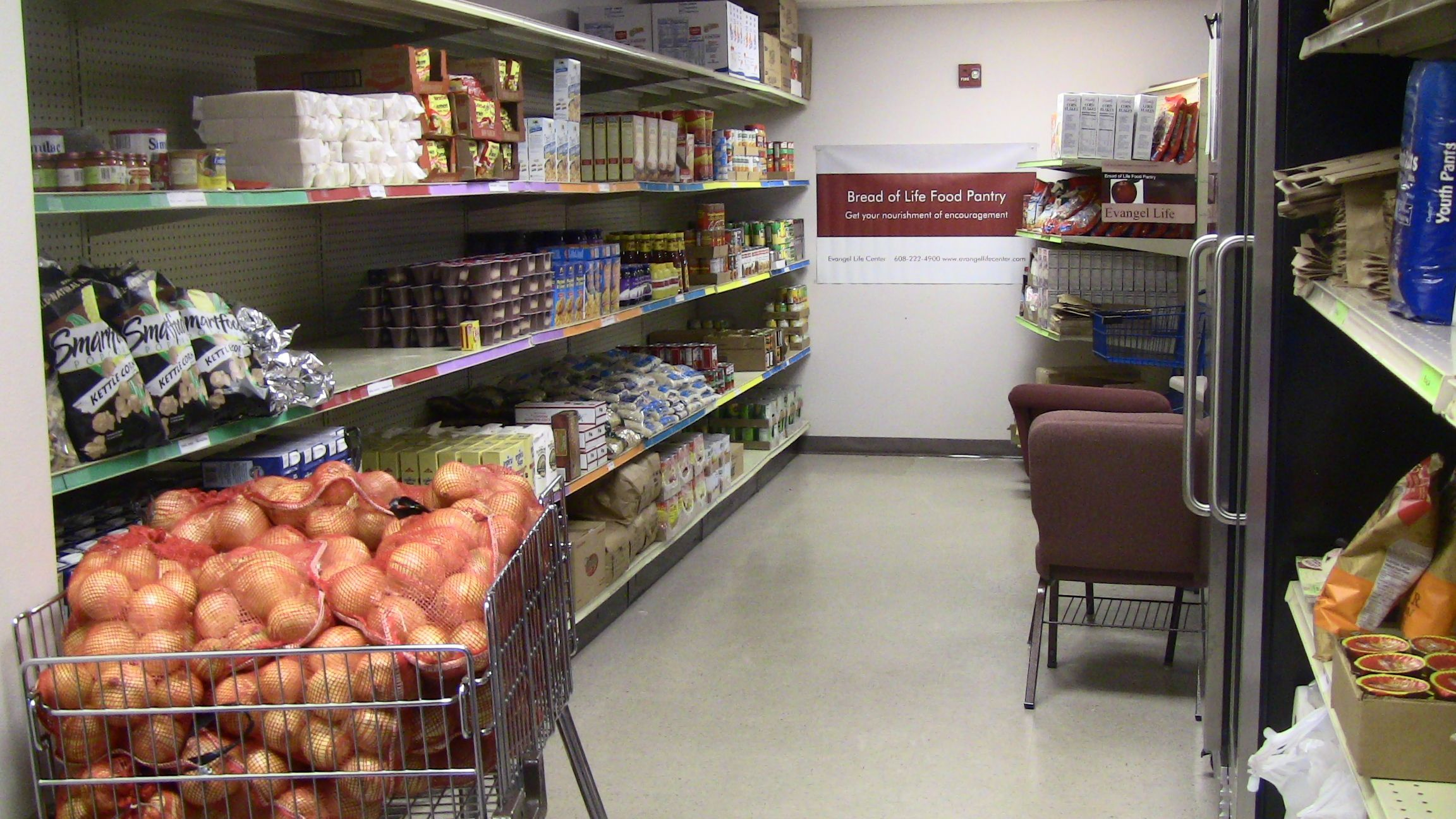 Evangel Life Center Bread of Life Food Pantry