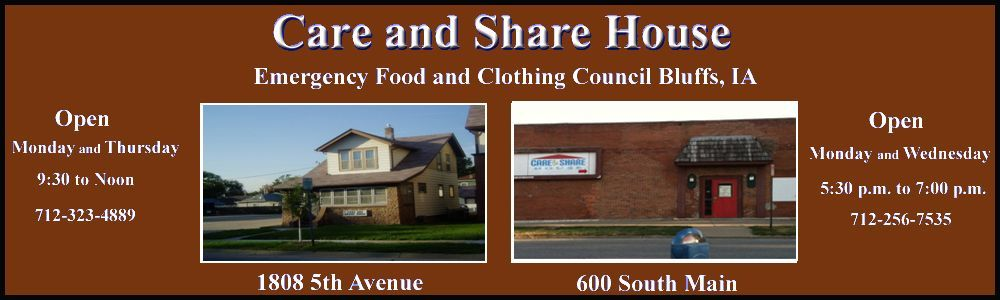 Care and Share House Main Street