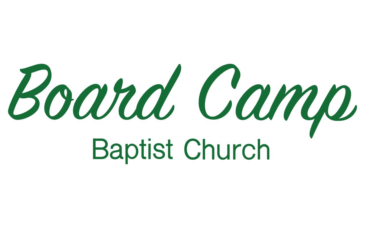 Board Camp Baptist Church food pantry