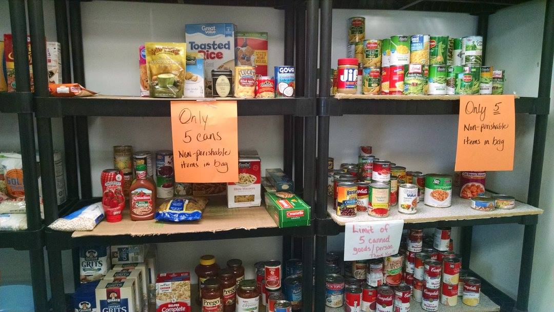 TLC Center Food Pantry