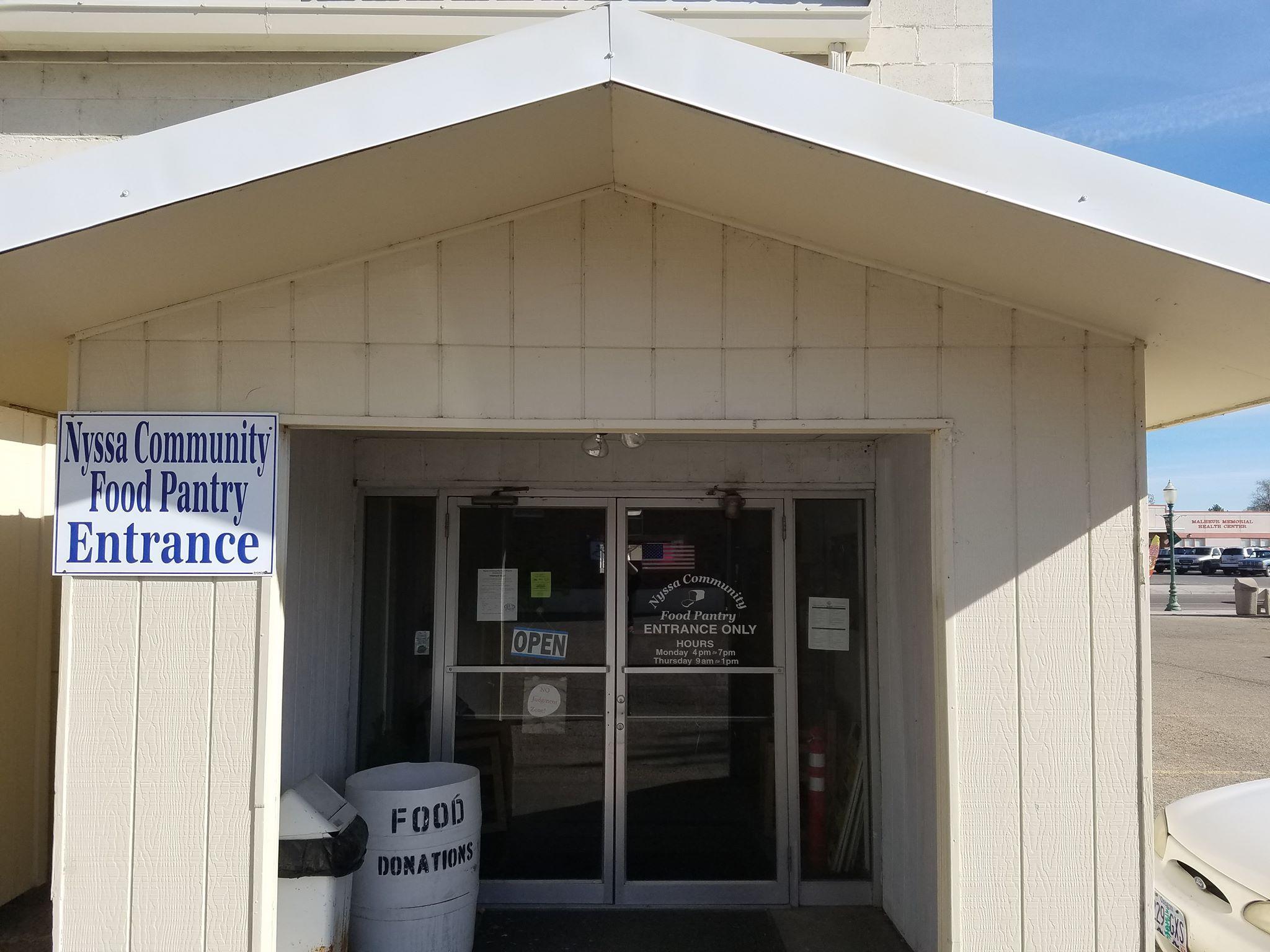 Nyssa Community Food Pantry