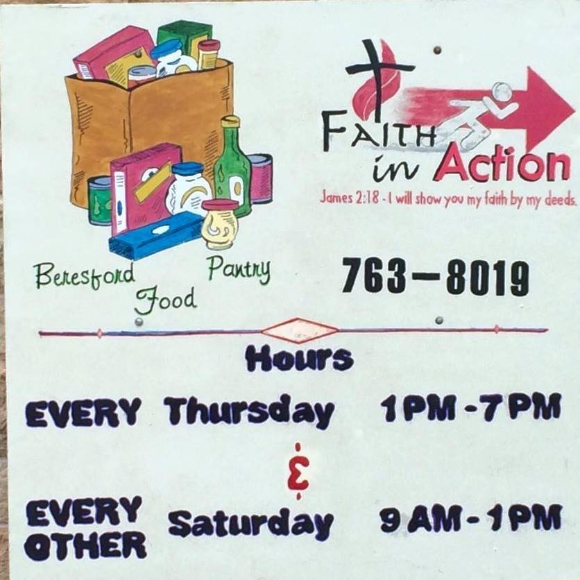 Beresford Faith in Action/Food Pantry