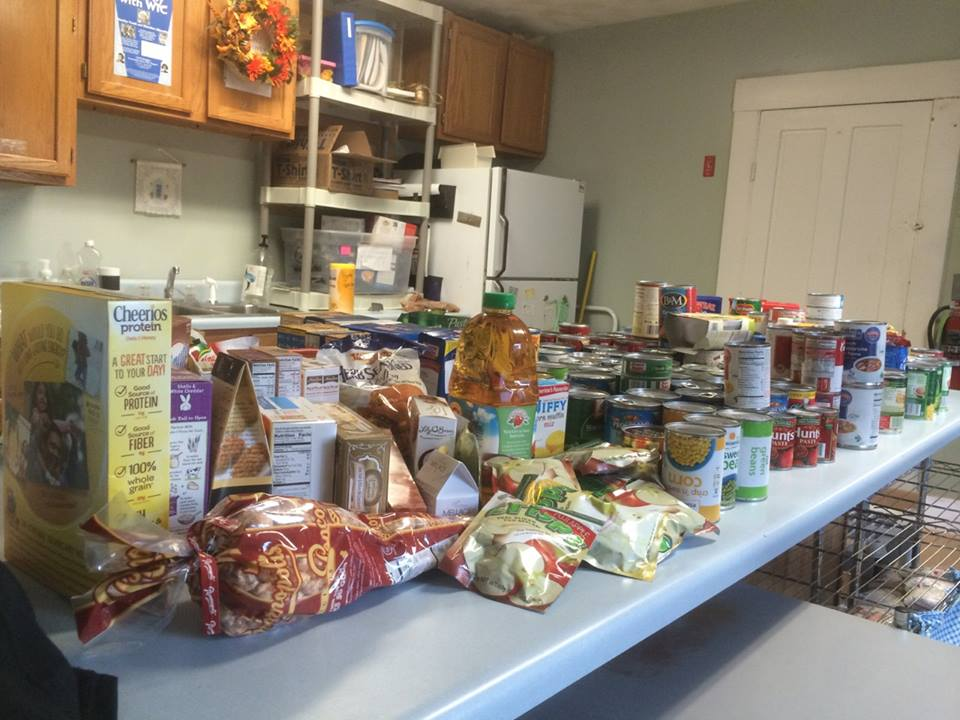 The Upper Room Food Pantry