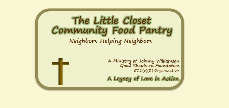 The Little Closet - A Community Food Pantry