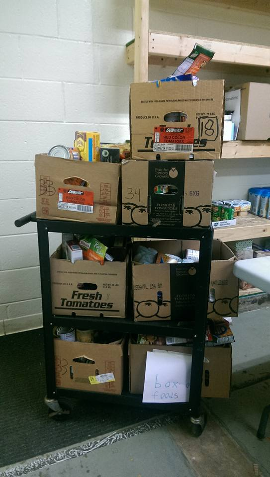 Keicher Elementary - Food Pantry
